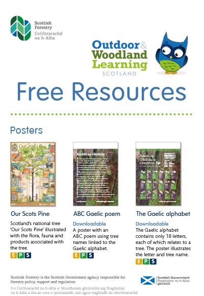 OWL Scotland Resources Flyer – August 2020 - Outdoor Learning Directory